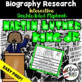 Black History Biography Research Report Flipbbook Martin L