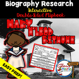 Black History Month Biography Research Report Flipbbook Ma