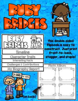 Black History Biography Research Report Flipbbook Ruby Bridges