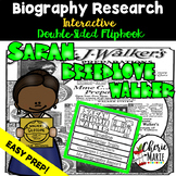 Black History Biography Research Report Flipbbook Sarah Br