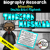 Black History Biography Research Report Flipbbook Thurgood