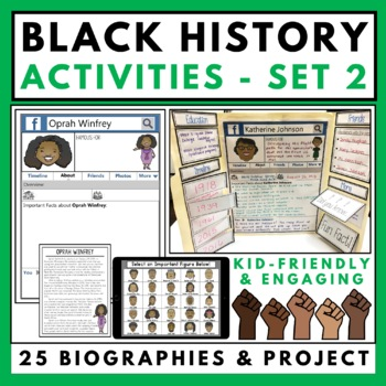 Black History Month Activities Set 2
