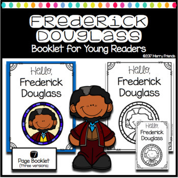 Black History Booklets for Emergent Readers - 7 books Frederick Douglass