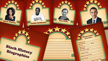 Black History Bulletin Board Kit