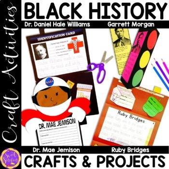 Black History Month (Garrett Morgan; Mae Jemison; Ruby Bridges; Dr. Williams)
