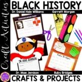 Black History Month (Garrett Morgan; Mae Jemison; Ruby Bridges; Daniel Williams)