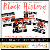 Black History Bundle K-3