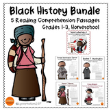 Black History Month Passages Bundle