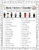 Black History Checklist