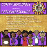Black History Choice Board Contribuciones de Famosos Afroa