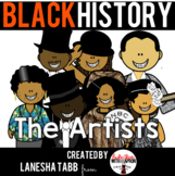 Black History Clip Art- Artists