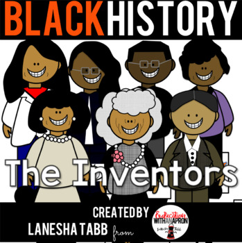 Black History Clip Art- Inventors