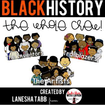 Black History Clip Art- THE BUNDLE!