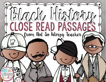 Black history month teaching resources lesson plans teachers pay black history close read passages and graphic organizers ibookread PDF