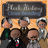Black History Close Reading