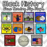 Black History Close Reading Flip Flaps