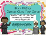 Black History Context Clues Task Cards