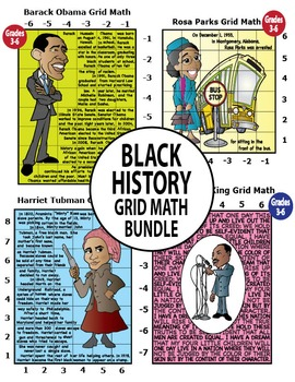 Black History Month Mystery Puzzles Bundle