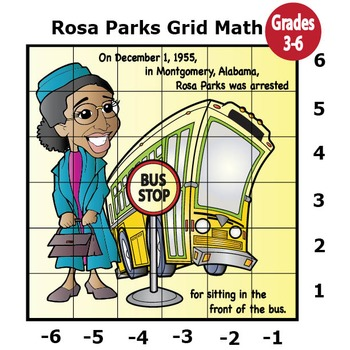 Black History Month Activities (Mystery Puzzles, Coordinate Graphing Pictures)