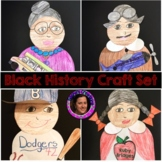 Black History Crafts for Rosa Parks,Jackie Robinson,Ruby Bridges,&Eugene Bullard