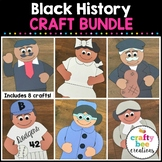 Black History Cut and Paste Set