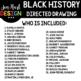 Black History Directed Drawing BUNDLE