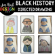 Black History Directed Drawing BUNDLE