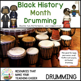 Black History Month Drumming ‪