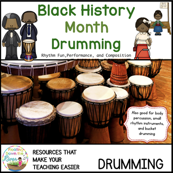 Black History Drumming and Rhythm Instrument Pack