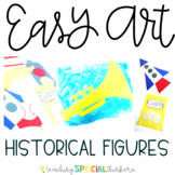 Black History Easy Art: Adapted Art Pack and Writing Activities