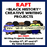 Black History Creative Writing Projects for Upper Elementary Students