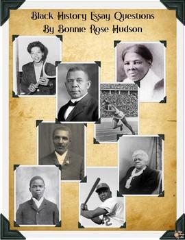 Black History Essay Questions