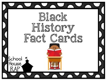 Black History Fact Cards
