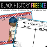 Black History Month Fact and Opinion FREEBIE