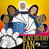 Black History Month Fan ~ Informational Reports About Blac