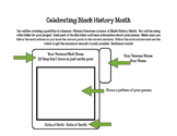 Black History File Folder Project