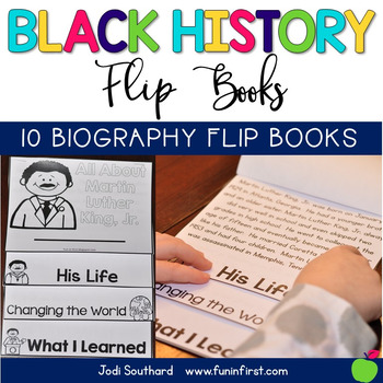 Black History Month Flip Books