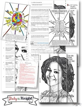 Black History Month Activities: Biographies, Webquests, Growth Mindset Bundle