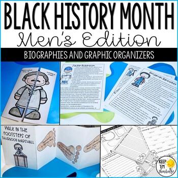 Black History: Folding Fun and Graphic Organizers Men's Edition