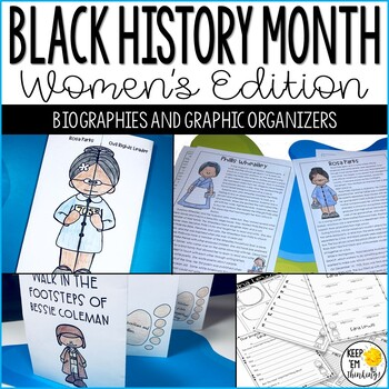 Black History Month Activities and Research: Famous African American Women