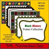 Black History Frame Collection * Freebie in preview download