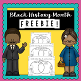 Black History Free Product | | Printable Worksheets | Black History Month