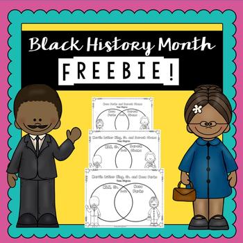 Black History Free Product | | Printable Worksheets | Black History Month