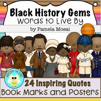 Black History Gems: BookMarks and Posters Bundle