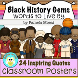 Black History Gems: Classroom Posters