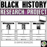 Black History Graphic Organizers - Black History Month Project