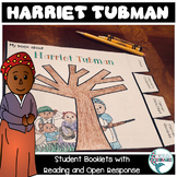 "Black History Harriet Tubman ""Thumb-tab-ulous"" Thumb Book for Grades 2-4"