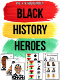 Black History Heroes for Preschool, Pre-K, and Kindergarten