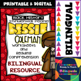 Black History - Influential People - Bessie Coleman (Bilingual Set)