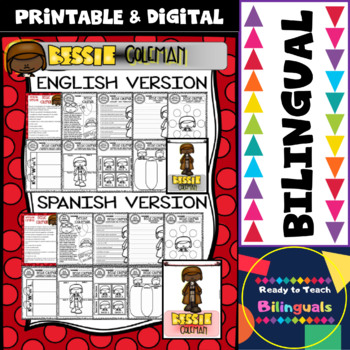 Black History - Influential People - Bessie Coleman (Bilingual Set)